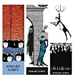 Bookmarks Gifts for Cat Lovers Gifts for Book Lovers Edward Gorey Crazy Cats & More Set of 3