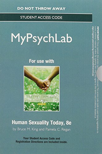 NEW MyPsychLab without Pearson eText -- Standalone Access Card -- for Human Sexuality Today (8th Edition)