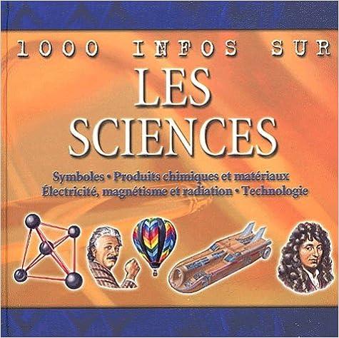 Livre Les Sciences pdf ebook