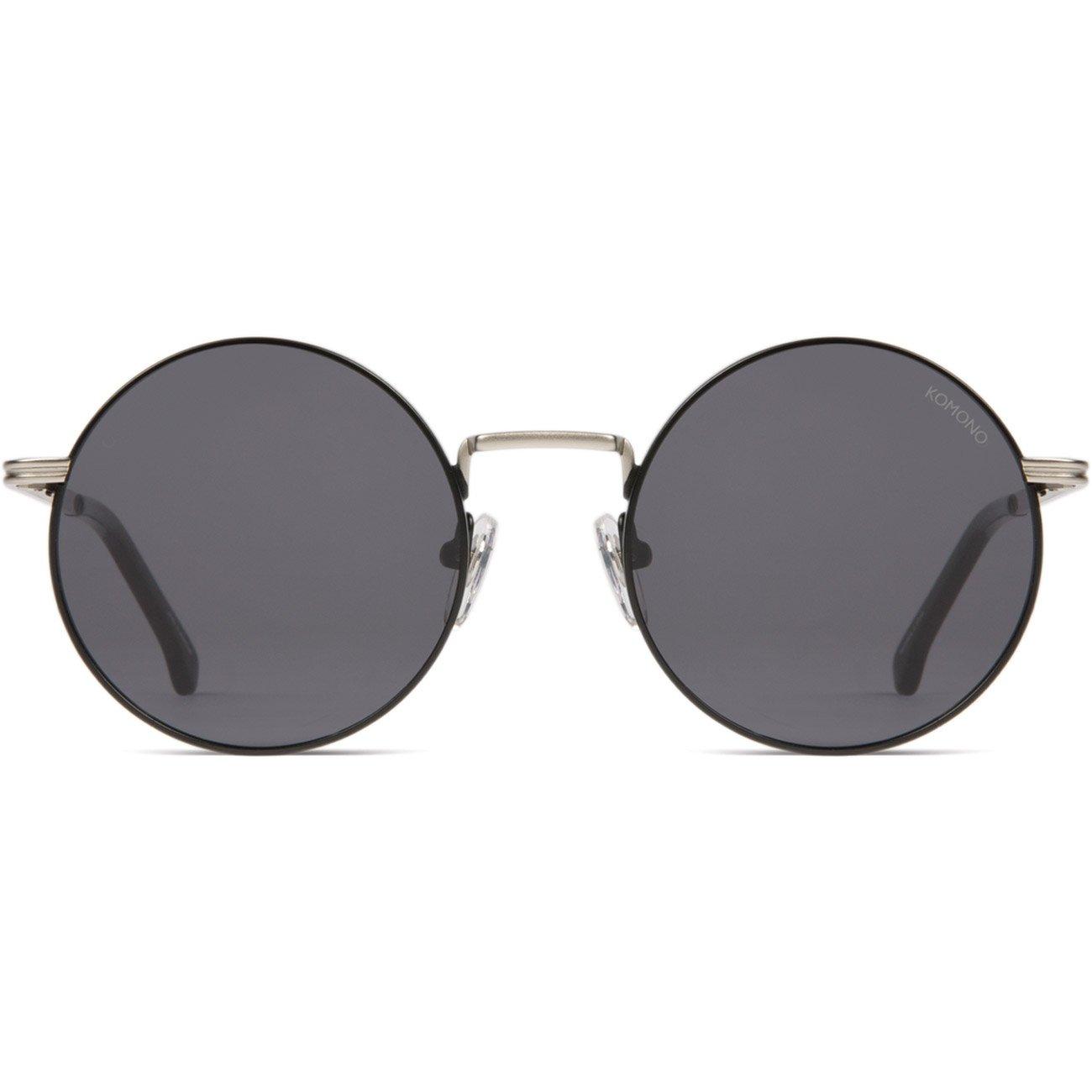 KOMONO Mujer Gafas de Sol Lennon, Plateado y Negro, Talla ...