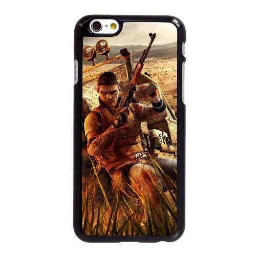 G4U56 Far Cry T7W2LE coque iPhone 6 Plus de 5,5 pouces cas de couverture de téléphone portable coque noire RU6PAP3PH