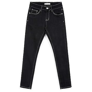 RLWFJXH Jean Mujer Autumn Plus Size L-6XL Dos Pantalones ...