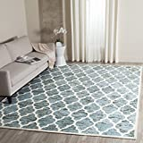Safavieh Himalaya Collection HIM121C Handmade Turquoise and Ivory Premium Wool Area Rug (8′ x 10′) Review