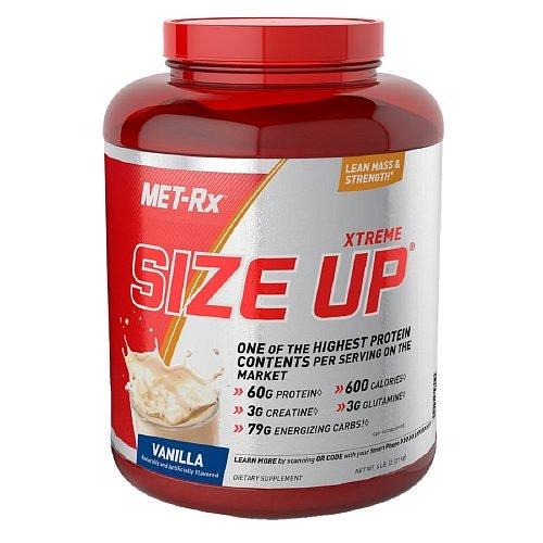 Met-Rx Size Up, Vanilla 6 lbs (2.72 kg)