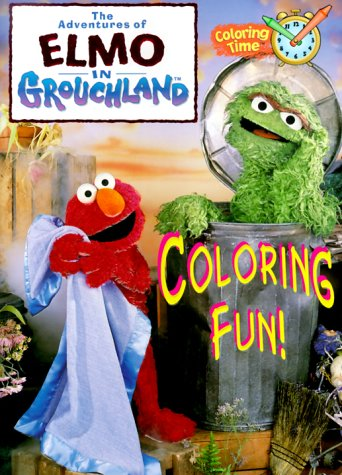 The Adventures of Elmo in Grouchland Coloring Fun