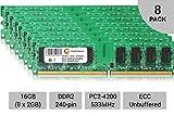 16GB 8X 2GB Power Mac G5 Late 2005 M9591LL/A M9592LL/A PowerMac11,2 Memory Ram by CENTERNEX