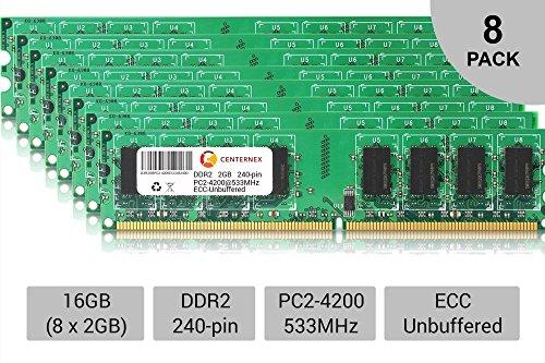 16GB 8X 2GB Power Mac G5 Late 2005 M9591LL/A M9592LL/A PowerMac11,2 Memory Ram by CENTERNEX by Centernex