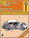 VW Type 3, 1500 and 1600, 1963 Thru 1973, John Haynes and D. H Stead, 0900550848