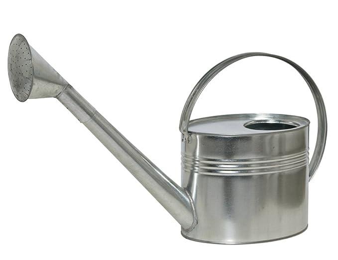 Gießkanne Zink schwarz 9 l Zinkgießkanne verzinkt Metall