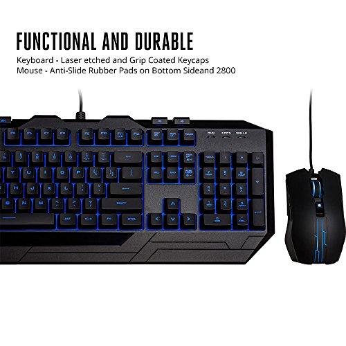 51NYRgWsviL - Cooler Master Devastator 3 Gaming Keyboard & Mouse Combo, 7 Color Mode LED Backlit, Media Keys, 4 DPI Settings