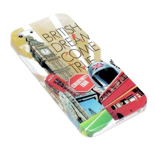 deinPhone Apple iPhone 5 5S HARDCASE Hülle Case London British Dream