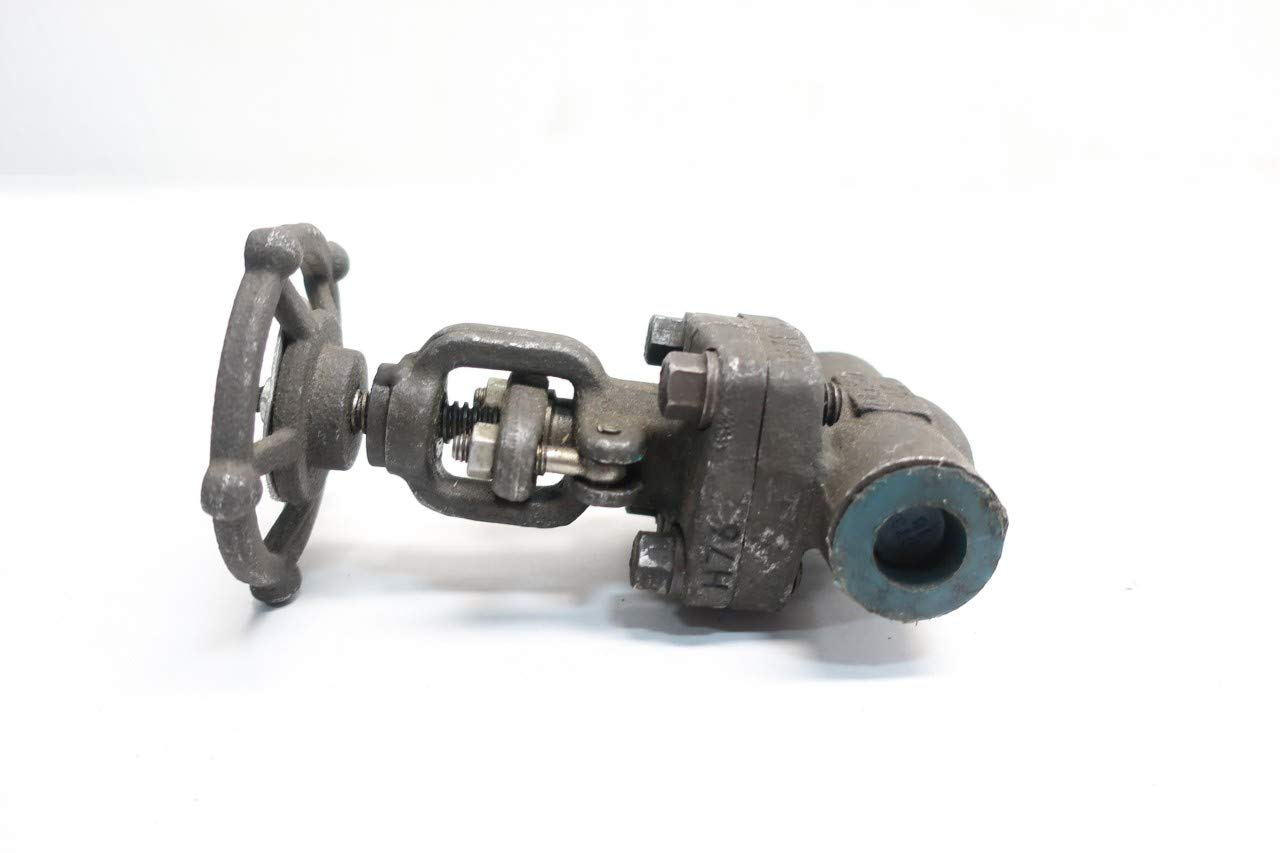 NEWCO 28T-FS2 Manual 800 Steel Threaded 1//2IN NPT Globe Valve