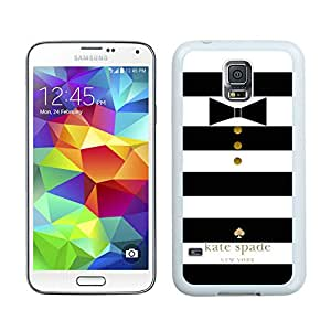Personalized Design Customize Samsung S5 Protective Case Kate Spade New York Hardshell Case for Samsung Galaxy S5 I9600 G900a G900v G900p G900t G900w Cover 36 White