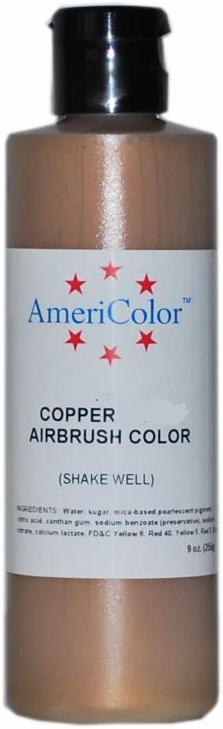 AmeriColor AmeriMist Copper Airbrush Food Color, 9 oz