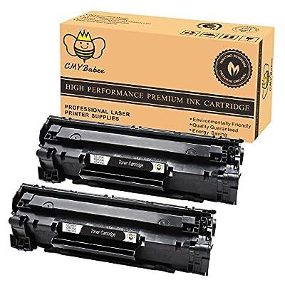 CMYBabee Compatible Black Toner Cartridge For HP CE285A 85A LaserJet P1102W M1217nfw MFP p1006
