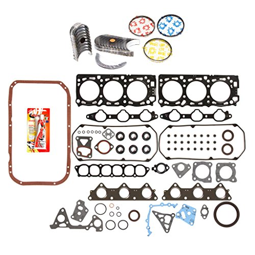 Domestic Gaskets Engine Rering Kit FSBRR5016EVE\2\1\1 Mitsubishi Montero & Sport 3.0 6G72 Full Gasket Set, 0.25mm / 0.010