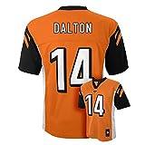 Andy Dalton Cincinnati Bengals #14 Orange Youth Mid Tier Alternate Jersey