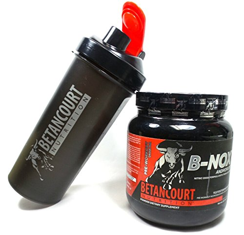 Price comparison product image Betancourt Nutrition - B-Nox Pre Workout Drink Mix,  35 servings Fruit Punch Net wt 22.3 Oz (1.3 lbs) - + B-nox Shaker Cup