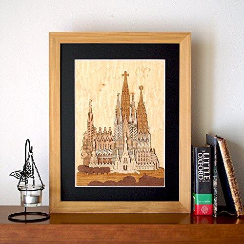 KINOWA Wooden Art Kit Kiharie Sagrada Familia Made in Japan by KINOWA (Image #4)