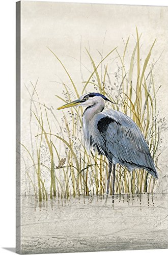 Tim O'Toole Premium Thick-Wrap Canvas Wall Art Print entitled Heron Sanctuary II 16