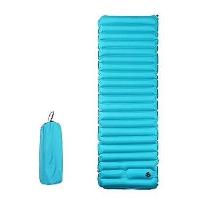 XUMENG Esterilla Inflable Portatíl Colchón de Aire para Camping Acampa Colchones Hinchable Utraligero y Resistente Cama