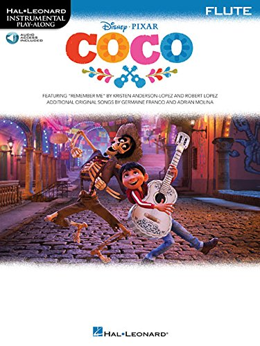 Coco: Flute Bk/Online Audio