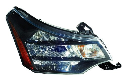 - For 2009 2010 Ford Focus Coupe/Sedan Headlight Headlamp Assembly Passenger Right Side Replacement FO2503269