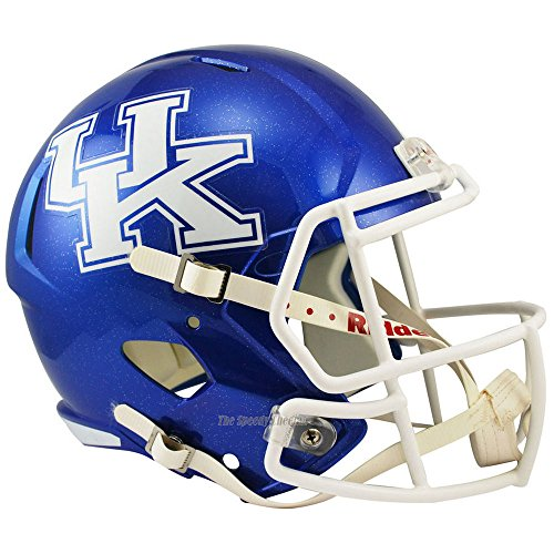 Riddell Kentucky Wildcats Officially Licensed NCAA Speed Full Size Replica Football Helmet