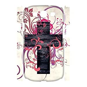 QSWHXN Jesus Christ Cross Customized Hard 3D Case For Samsung Galaxy S3 I9300