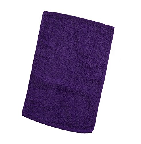 Hand Towel Hemmed Embroidered - Georgiabags 3-Pack Terry Velour Hand Towels 100% Cotton, 11