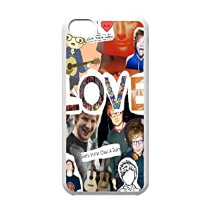 Yearinspace Ed Sheeran LOVE Cases For IPhone 5C Anti-Slip, Case For Iphone 5c For Men For Women Protective With White