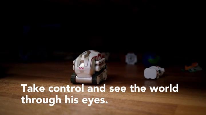 Anki Cozmo Limited Edition (Interstellar Blue), un divertido y educativo robot de juguete para niños