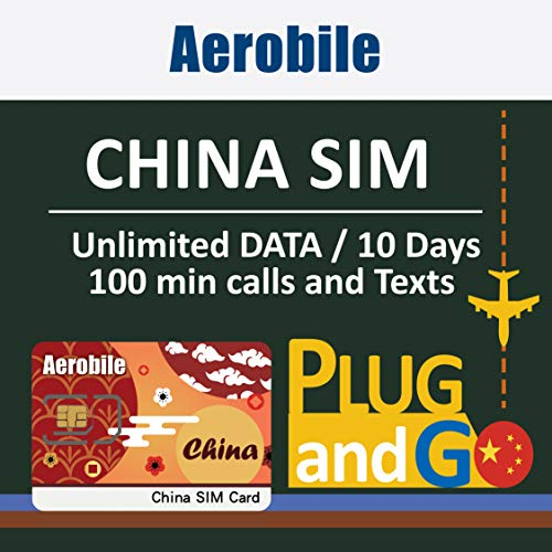 - China SIM Card 10days Unlimited Data (3GB at 4G LTE high Speed) + 100mins Calls +100 Texts in Mainland China, Hong Kong and Macau. Free Firewall Pass. Use FB, Whatsapp, Google Without VPN