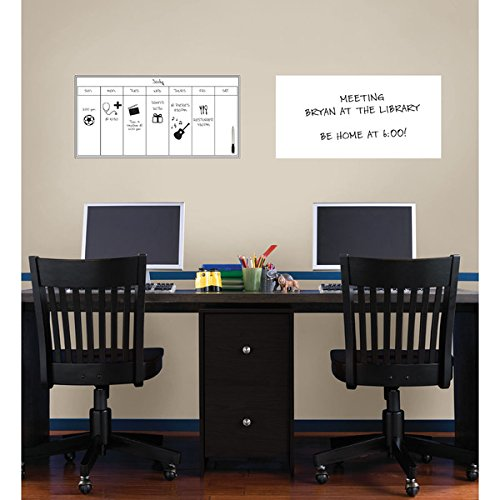 Weekly Dry Erase Calendar Message Board Combo