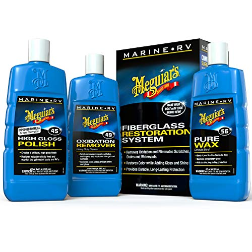 Winch Grease - MEGUIAR'S M4965 Marine/RV Fiberglass Restoration System