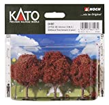 KATO(カトー) KATO(カトー)・NOCH(ノッホ) けやき (茶) 65mm (3本入)
