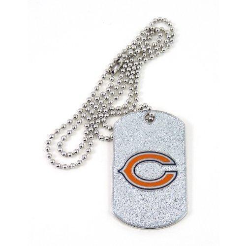 NFL Chicago Bears Glitter Dog Tag Chicago Bears Dog Tag