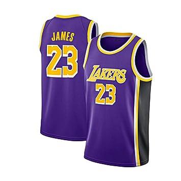 FDRYA Camisetas de Baloncesto NBA para Hombre Lakers Lebron James ...