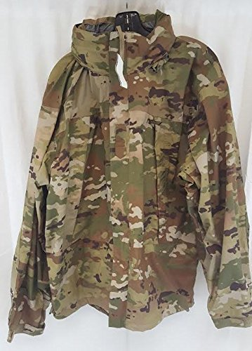 Genuine Us Army Ecwcs Multicam Gen III Level 6 Extreme Cold/wet Weather Jacket - Small Long