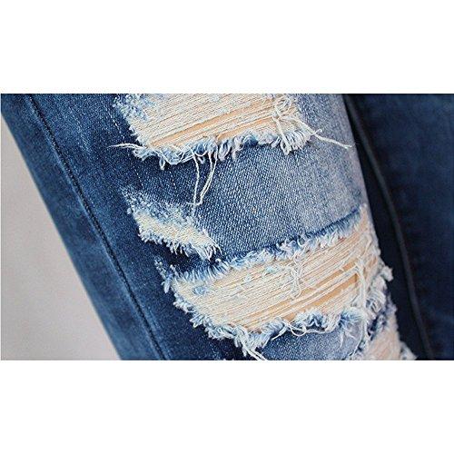 JYC Bleu Jeans JYC Jeans Femme Femme q8nS80Exz