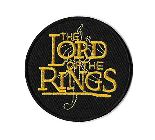 Lord of the Rings Patch Embroidered Iron on Badge Costume Applique Souvenir The Hobbit Shire Baggins Gollum Frodo Smaug Aragon Collectible (Easy Frodo Costume)