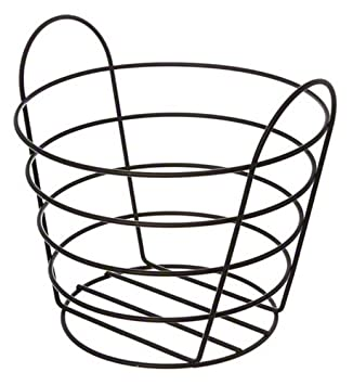 Amazon.com: American Metalcraft BWB965 Round Wire Basket with ...