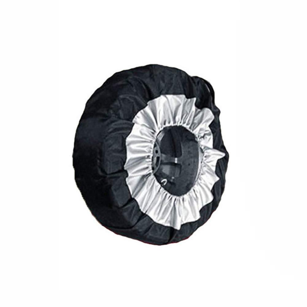 Sinnper Black Spare Tire Cover 1 Pcs Universal 13-19inch Car SUV Wheel Bag Tire Tyre Spare Storage Cover Tote