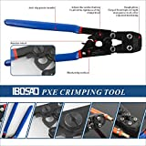 IBOSAD PEX Cinch Tool Pipe Crimping Tool for