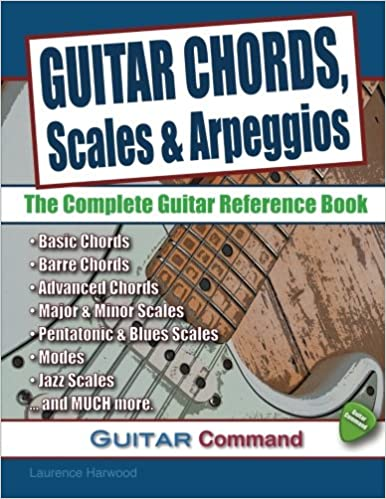 Guitar Chords Paperba Scales and Arpeggios The Complete Guitar Reference Book