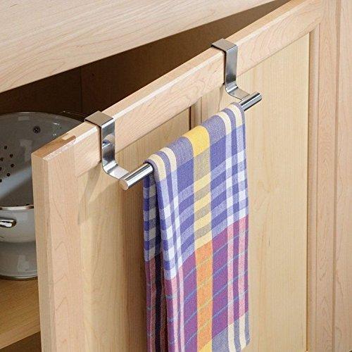 Kitchen Over Cabinet Door Towel Stand