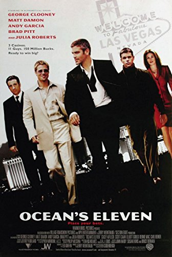 oceans eleven movie poster