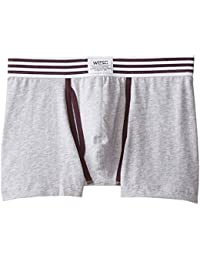 Men's Elastic Stripe Boxer