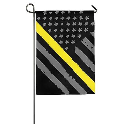 Amazon com : Hopes's Garden Flag - 12 X 18 Inch Decorative Cute 911