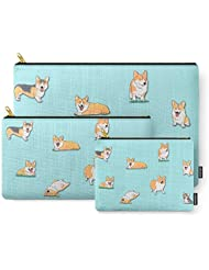 Society6 Corgi Carry-All Pouch
